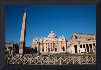 St. Peter's Basilica and Oblisk