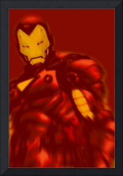 Iron Man Pop Crop Red
