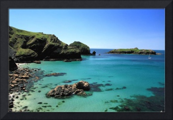 Mullion Cove in Cornwall, England