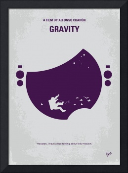 No269 My Gravity minimal movie poster