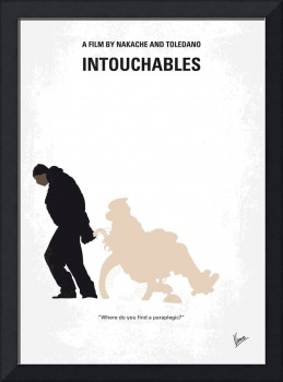 No994 My Intouchables minimal movie poster