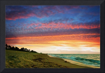 Juno Beach Florida Sunrise Seascape D7