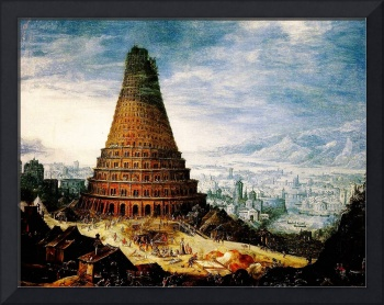 Flemish The Tower of Babel  Baroque