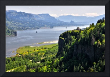 Crown Point overlook at Columbia River Gorge, OR