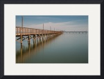 Fulton Fishing Pier (color) by Dave Wilson
