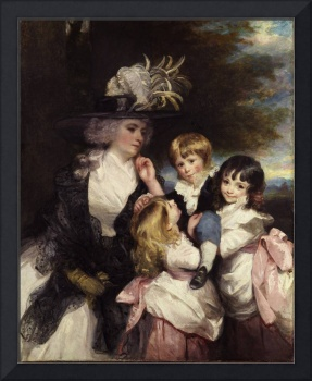 Sir Joshua Reynolds(1723-1792) Lady Smith and chil