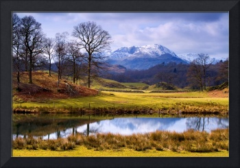The Lake District - Wetherlam from the Brathay