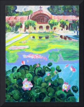 Balboa Park Reflecting Pool - San Diego Art