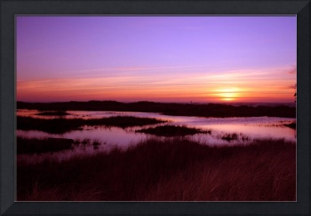 Ocean Shores Sunset O1003
