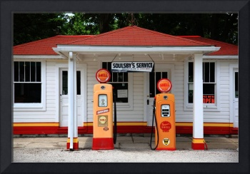 Route 66 - Soulsby Station Pumps