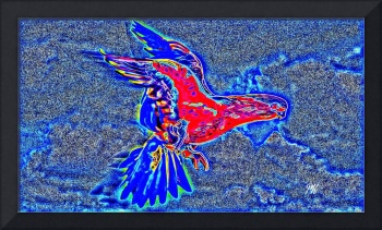 Abstract Bird Art 7