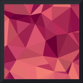 Deep Cerise Purple Abstract Low Polygon Background