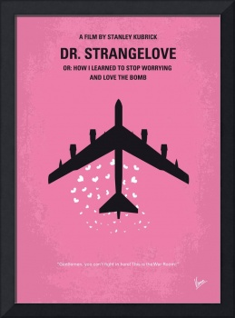 No025 My Dr Strangelove minimal movie poster
