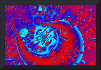 Retro Crazyness Psychedelic Fractal