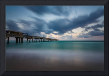 Dania Beach Pier at Sunset IV