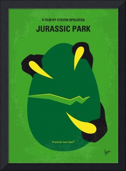No047 My Jurasic Park minimal movie poster