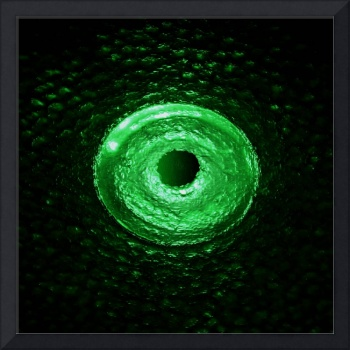 Dragon's eye - emerald green