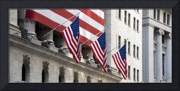 Wall Street Flags