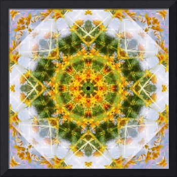 Yellow Flower Mandala