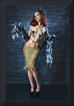 Burlesque Lady - Fine Art of Bondage