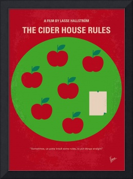 No807 My The Cider House rules minimal movie poste