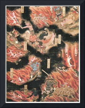 The Weighing of the Soul, Japanese Buddhist