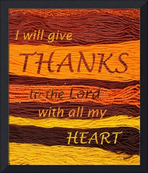 I Will Give Thanks
