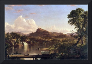 New England Scene by Frederick Edwin Church