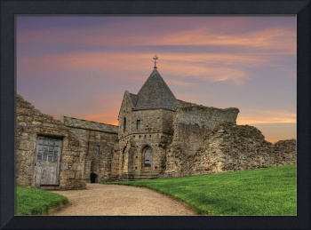 Inchcolm Abbey: Firth of Forth, Scotland