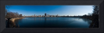 Reservoir Panoramic - Winter