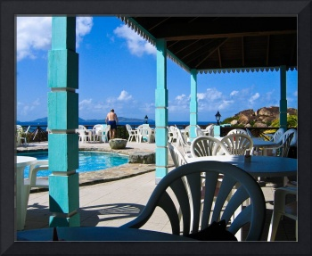 Cafe in Virgin Gorda