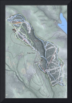 Eagle Point Resort Trail Map