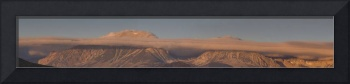 Sunrise Panorama of Tioga Pass Area