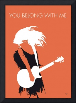 No043 MY TAYLOR SWIFT Minimal Music poster