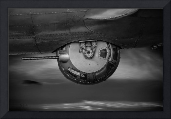 World War Two Bomber B17 Ball Turret