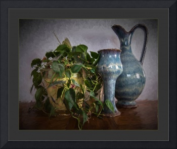 Still Life with Philodendron
