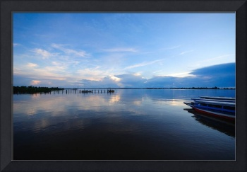 Suriname River Leonsberg Blue Hours Sunrise