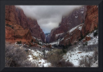 Kolob Canyon in Zion National Park