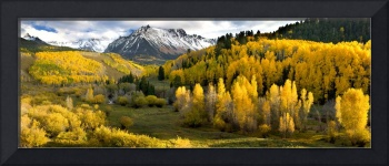 Mount  Sneffels Valley Panorama