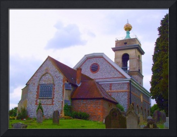 The Golden Ball, St. Lawrence Church, West Wycombe