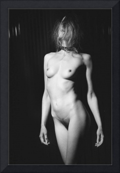 Beautiful Nude Woman - In vintage erotic