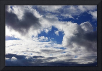 Storm Clouds Art Prints Blue Sky Weather