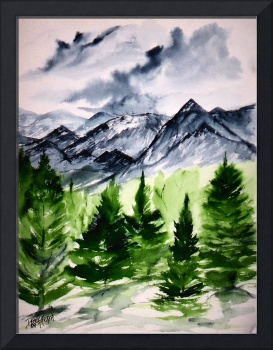 landscape painting prints Ruidoso NM