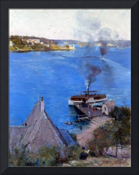 Arthur Streeton From McMahon's Point Fare One Penn