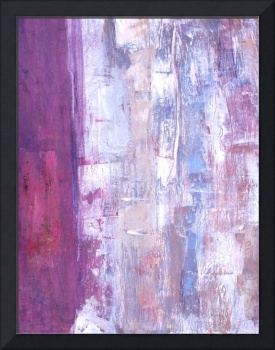 magenta abstract with gesso effect