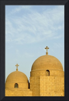 Domes of Upper Church of St George, Coptic Cairo