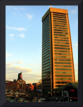 Baltimore's World Trade Center and Hard Rock Cafe
