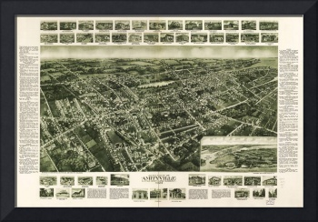 Aerial View of Amityville, New York (1925)