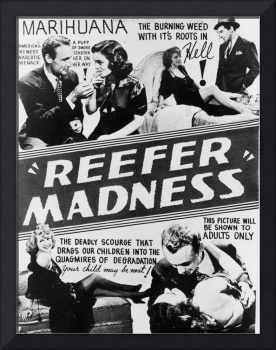 reefer madness vintage movie poster