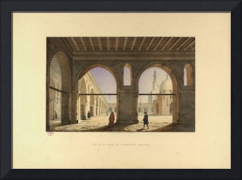 PASCAL XAVIER COSTE (1787-1879), Mosque of Ahmad i